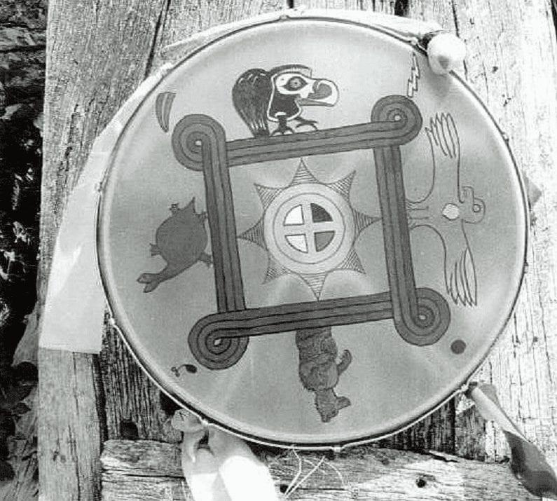 mijn eerste sjamaan drum