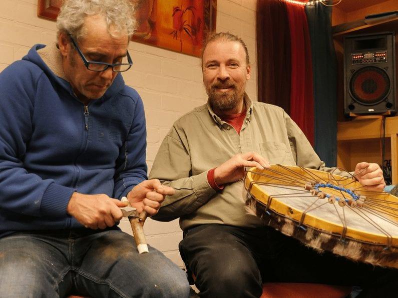 sjamanen trommel